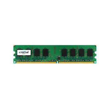 CT12864AA800.8FJ1 Crucial 1GB DDR2 Non ECC PC2-6400 800Mhz Memory