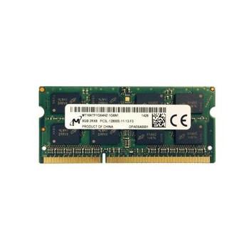MT16KTF1G64HZ-1G6N1 Micron 8GB DDR3 SoDimm Non ECC PC3-12800 1600Mhz 2Rx8 Memory