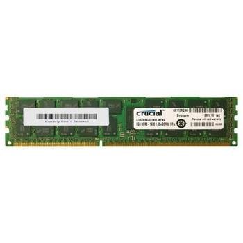 CT8G3ERSLD4160B Crucial 8GB DDR3 Registered ECC PC3-12800 1600Mhz 2Rx4 Memory