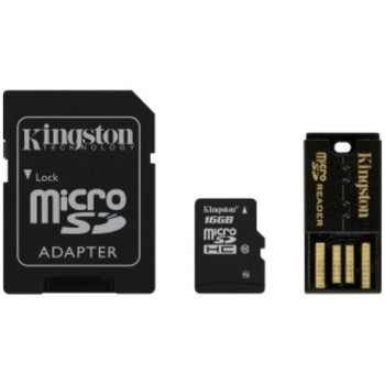 MBLY10G2/16GB Kingston 16GB Gen 2 Class 10 microSDHC Flash Memory Card