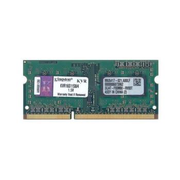 KVR16S11S8/4 Kingston 4GB DDR3 SoDimm Non ECC PC3-12800 1600Mhz 1Rx8 Memory