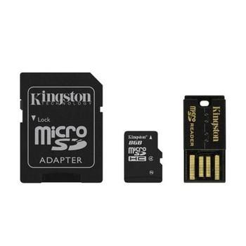 MBLY10G2/8GB Kingston 8GB G2 Class 10 microSD Flash Memory Card Mobility Kit