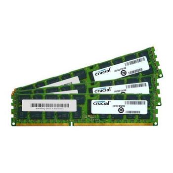 CT3KIT102472BB160B Crucial 24GB (3x8GB) DDR3 Registered ECC PC3-12800 1600Mhz Memory