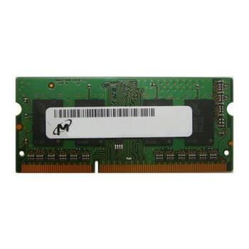 MT16KTF51264HZ-1G4K1 Micron 4GB DDR3 SoDimm Non ECC PC3-10600 1333Mhz 2Rx8 Memory