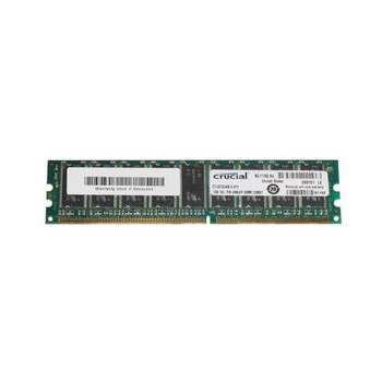 CT12872Z40B Crucial 1GB DDR ECC PC-3200 400Mhz Memory