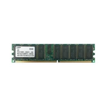 M312L5128MT0-CB0 Samsung 4GB DDR Registered ECC PC-2100 266Mhz 2Rx4 Memory