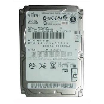 MHV2060AT Fujitsu 60GB 4200RPM ATA 100 2.5 8MB Cache Mobile Hard Drive