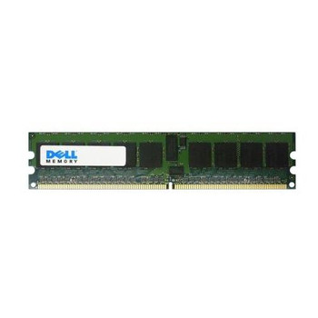 4D554 Dell 256MB DDR2 Registered ECC PC2-3200 400Mhz 1Rx8 Memory