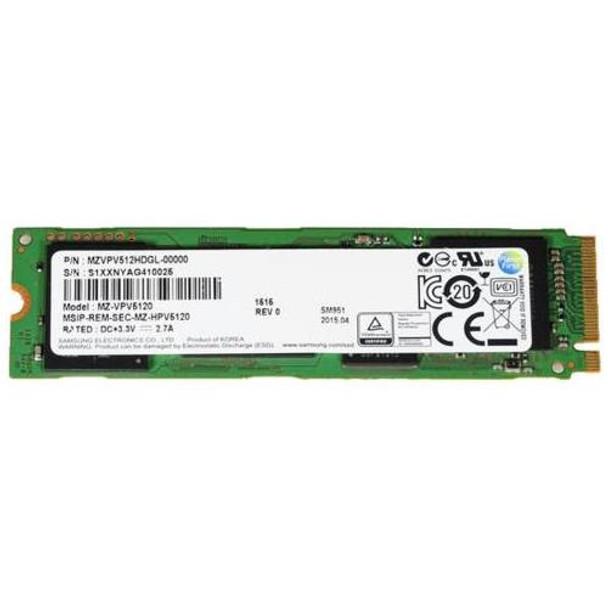 MZVPV512HDGL Samsung SM951 Series 512GB MLC PCI Express 3.0 x4 Extreme Performance M.2 2280 Internal Solid State Drive (SSD)