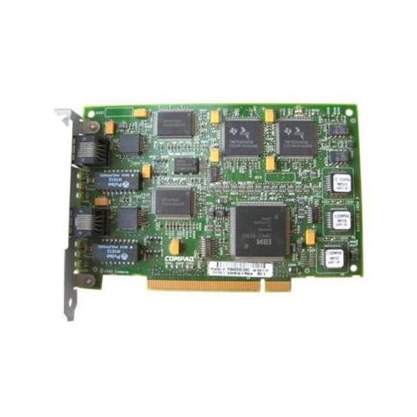 242559-001 Compaq Netelligent PCI Dual Port 10/100Base-TX UTP Network Adapter
