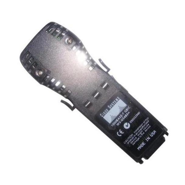 WS-G5483 Cisco 1.25Gbps 1000Base-T Copper 100m RJ-45 Connector Copper GBIC Transceiver Module