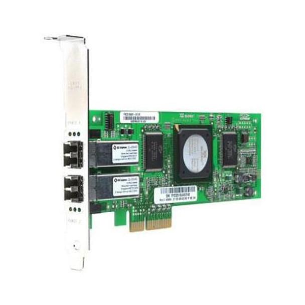 PX2510401-63 QLogic 4GB Dual Ports Fibre PCI Express Card