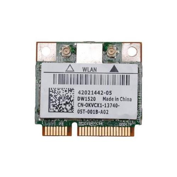 0KVCX1 Dell 802 11n Wireless Mini PCI-Express Card for Latitude E6410