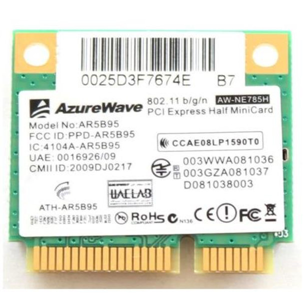 AR9285 ASUS 802 11b/g/n Wireless Mini PCI Express Network Card for ROG  G73Jw Laptop
