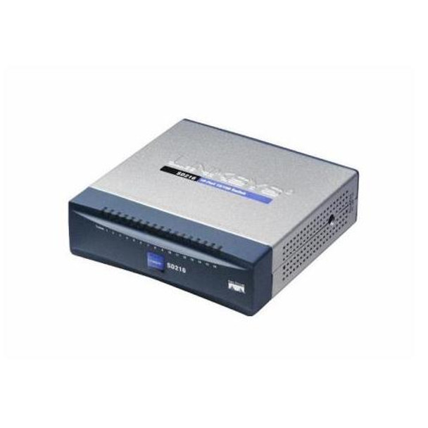 SD216 Linksys 16-Ports 10/100Mbps Ethernet Switch (Refurbished)