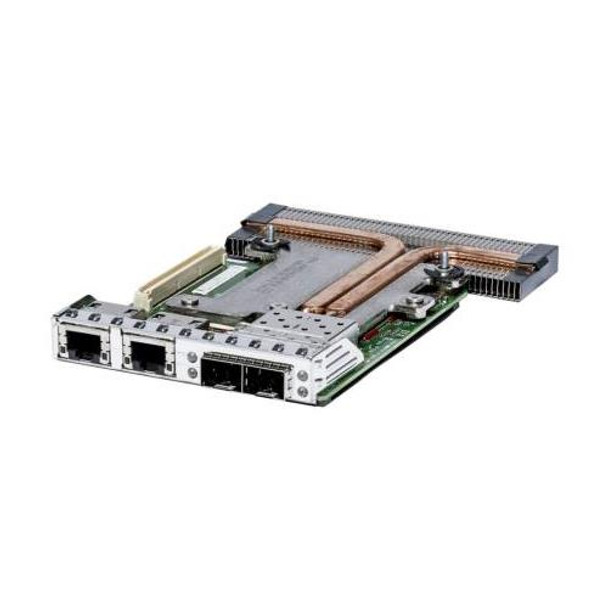 C63DV Dell Intel X520 Dual-Ports DA/SFP+ 10Gbps + I350 Dual-Ports 1Gbps Network Daughter Card