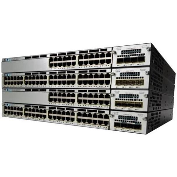 WS-C3750X-48U-E Cisco Catalyst Layer 3 Switch (Refurbished)