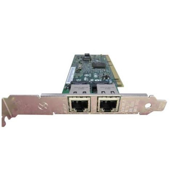 313585-001 HP NC6170 PCI-X 2-Port Fibre Channel 1000Base-SX Gigabit  Ethernet Server Adapter Network Interface Card (NIC)