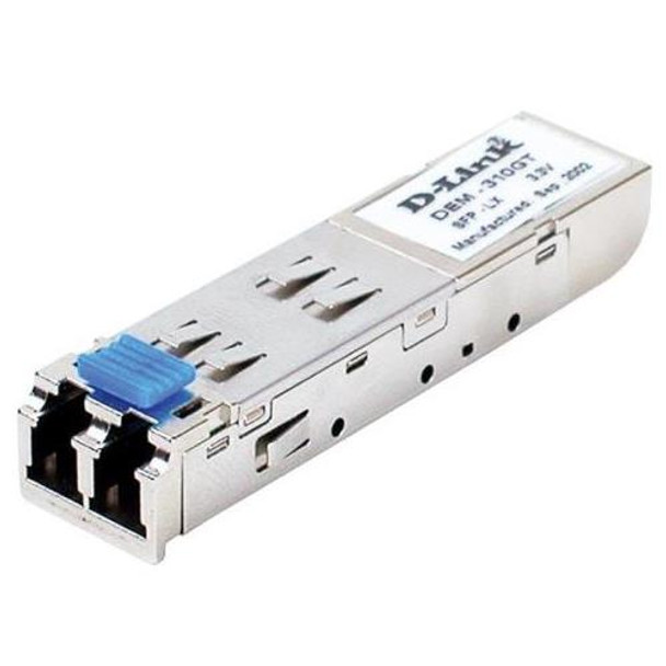DEM-310GT D-Link 1Gbps 1000Base-LX Single-mode Fibre 10km 1310nm Duplex LC Connector SFP Transceiver Module