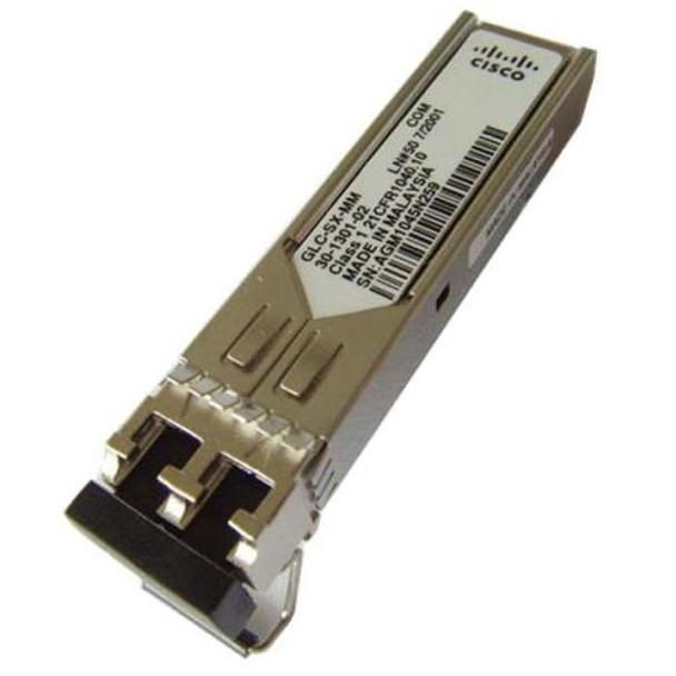 GLC-SX-MM= Cisco 1.25Gbps 1000Base-SX Multi-mode Fiber 550m 850nm Duplex LC Connector SFP Transceiver Module