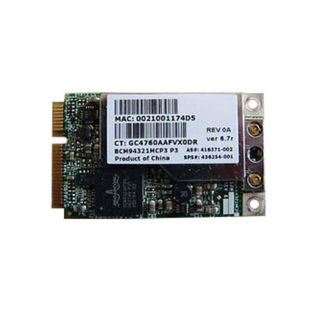 453730-002 HP Mini PCI-Express Broadcom WiFi 802 11a/b/g LJ Embedded  Wireless LAN (WLAN) Network Adapter with Bluetooth