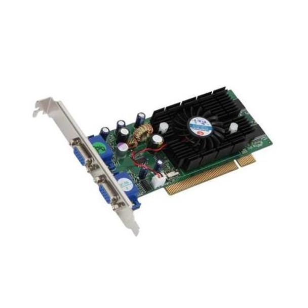 228PCITW Nvidia GeForce FX5200 128MB DDR 64-Bit Dual VGA PCI Video Graphics Card