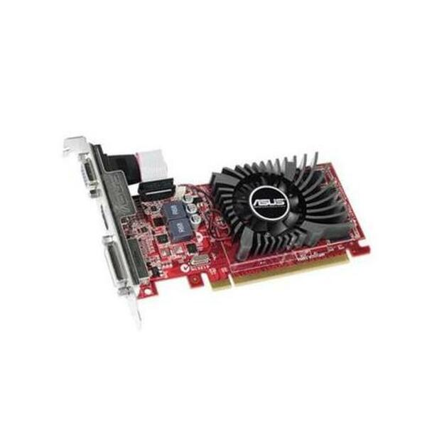 R7240-2GD3-L ASUS Radeon R7 240 2GB 128-Bit DDR3 PCI Express 3.0 VGA/ DVI/ HDMI Low Profile Video Graphics Card