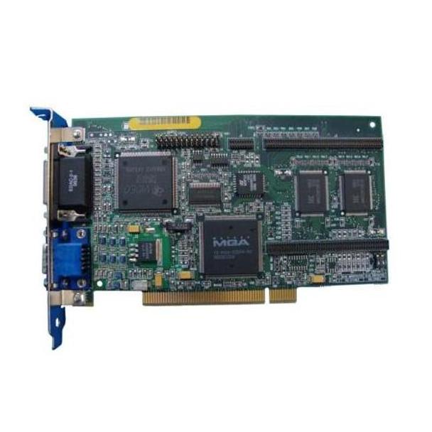 006443-001 HP Matrox Millenium MGA 2MB Dual Port PCI Graphics Controller Card