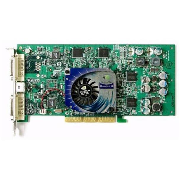 180-10152-0000-A03 Nvidia Quadro4 980XGL 128MB Dual DVI AGP 8x Video Graphics Card