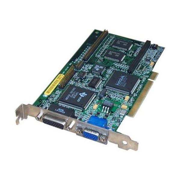 5063-8798 HP Matrox Millenium MGA 2MB Dual Port PCI Graphics Controller Card