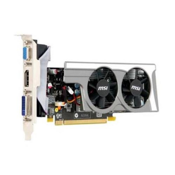 R5670-PD512 MSI Radeon HD 5670 512MB GDDR5 128-Bit PCI Express x16 2 1 Dual  DVI/ D-Sub/ HDMI/ DisplayPort/ HDCP Support Video Graphics Card