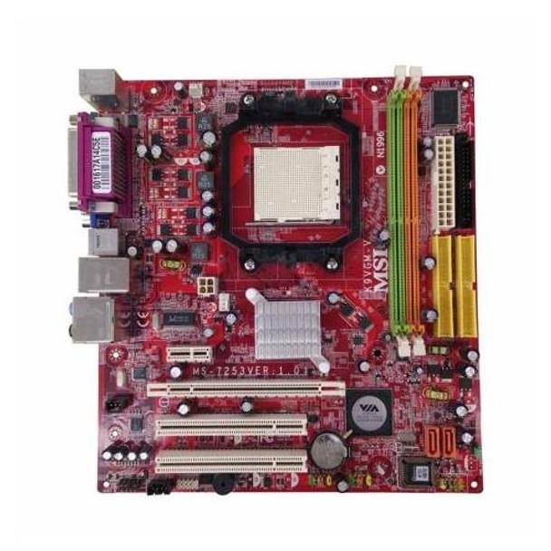 K9VGM-V MSI VIA K8M890/ VT8237A AMD Athlon 64 X2 Processors Support Socket AM2 micro-ATX Motherboard (Refurbished)