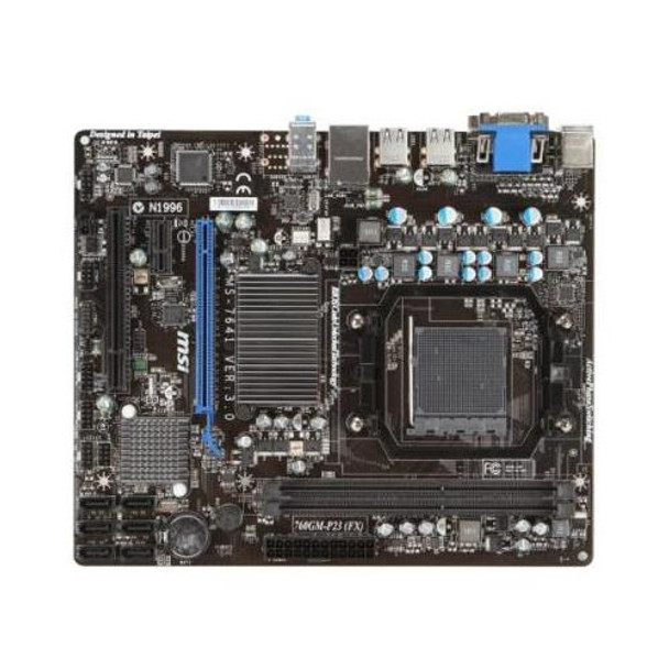 MS-7641 MSI 760GM-P34 (FX) AMD 760G Motherboard with I/O Cover (Refurbished)