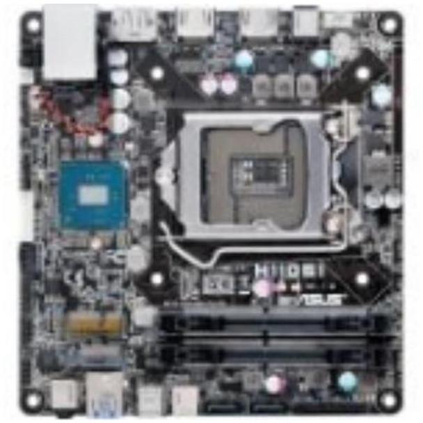 H110S1/CSM Asus Desktop Motherboard Intel H110 Chipset Socket H4 LGA-1151 Mini-STX 1 x Processor Support 32GB DDR4 SDRAM Maximum RAM 2.13 GHz Memory S