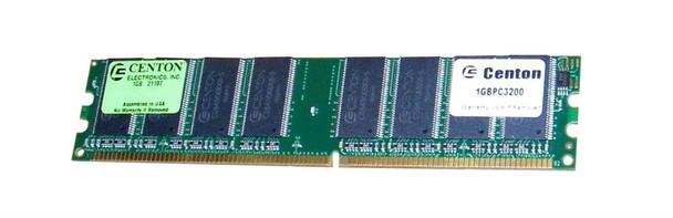 1GB3200G5 Centon Electronics 1GB DDR Non ECC PC-3200 400Mhz Memory