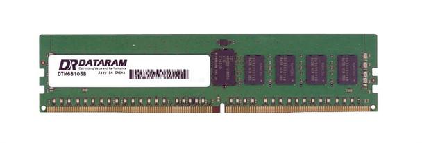 DRF2133R/8GB Dataram 8GB DDR4 Registered ECC PC4-17000 2133Mhz 2Rx8 Memory