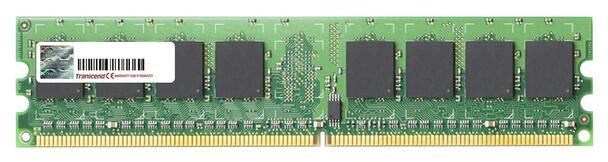 TS128MLQ64V4J Transcend 1GB DDR2 Non ECC PC2-3200 400Mhz Memory