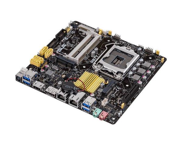 MB-Q87TCSM ASUS Q87T/CSM Intel Q87 Chipset Socket LGA1150 Mini-ITX Motherboard (Refurbished)