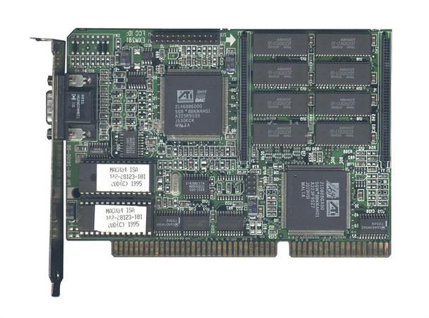 EXM281 ATI G/xpression ISA VGA Video Graphics Card