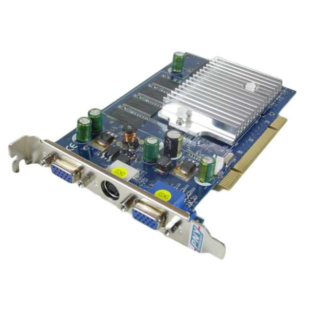 FX5200-256 PNY GeForce FX5200 256MB DDR Dual D-Sub/ S-Video Out Port Video Graphics Card
