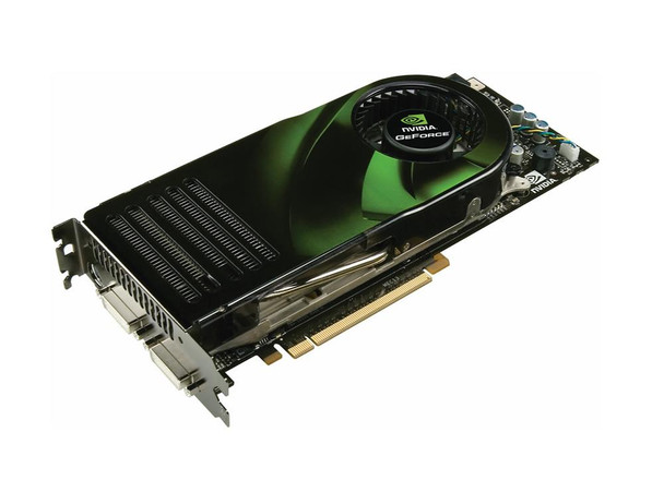 180-10355-0000-B01 Nvidia GeForce 8800GTX 768MB 384-Bit GDDR3 PCI Express x16 HDCP Ready SLI Supported HDTV/ S-Video Out/ Dual DVI Video Graphics Card