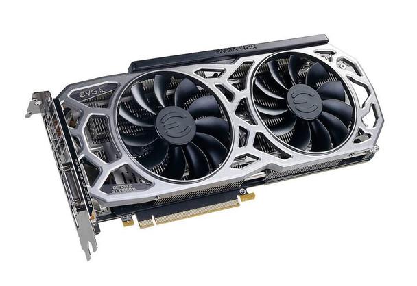11G-P4-6593-KR EVGA GeForce GTX 1080 Ti 11GB GDDR5x 352-Bit HDMI / DisplayPort / Dual-DVI-D PCI-Express 3.0 x16 Video Graphics Card