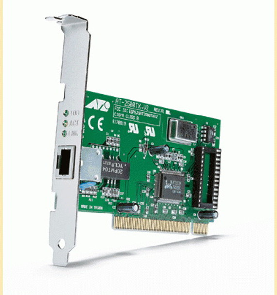 Allied Telesis AT-2500TX (V2) Fast Ethernet Driver for Windows Mac
