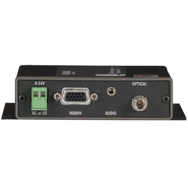 AC1021A-XMIT Black Box VGA/Stereo-Audio Fiber Extender Transmitter
