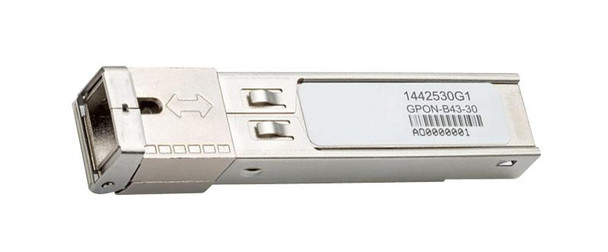 1442530G1 Adtran OC48-BX-D Multirate GPON 2Gbps Single-mode Fibre 30km SC Connector SFP Transceiver Module