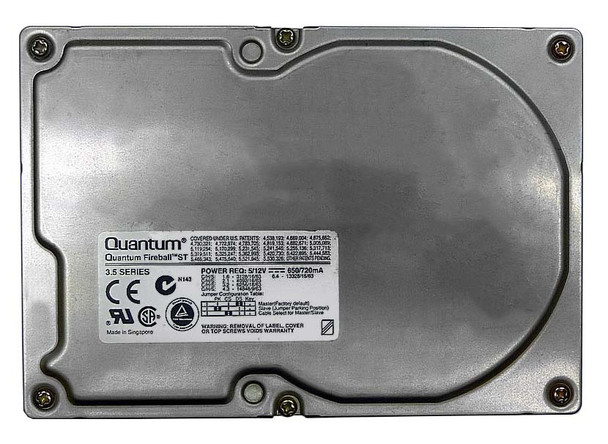 3240S Quantum 3GB 5400RPM Ultra SCSI 3.5 512KB Cache Fireball Hard Drive