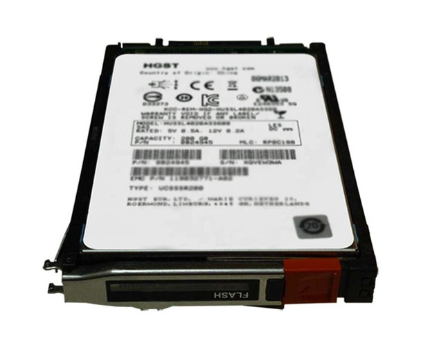 005050366 EMC 200GB SAS 6Gbps EFD 2.5-inch Internal Solid State Drive (SSD) with Tray for VNX5300 and VNX5100 Storage Systems