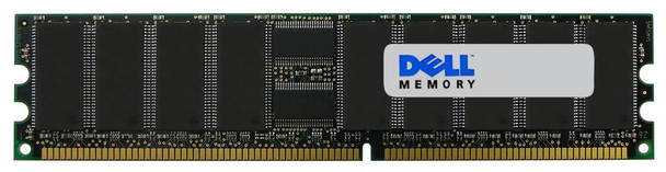 340-10724 Dell 1GB PC2100 DDR-266MHz Registered ECC CL2.5 184-Pin DIMM 2.5V Dual Rank Memory Module for PowerEdge 2650