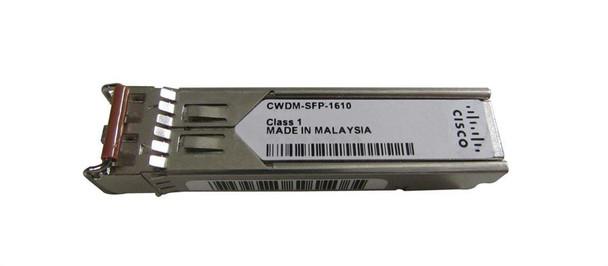 CWDM-SFP-1610-120 Cisco 1Gbps 1000Base-CWDM Fibre Channel Single-mode Fiber 120km 1610nm Duplex LC Connector SFP Transceiver Module