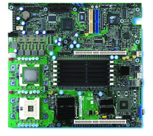 SE7501WV2 Intel Socket 604 Intel E7501 Chipset Intel Xeon Processors Support DDR 6x DIMM 2x ATA 100 SSI TEB Server Motherboard (Refurbished)